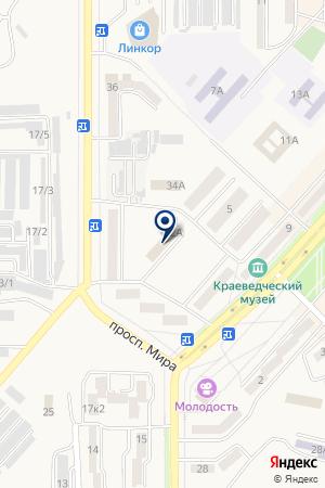 Мировые судьи г. Амурска и Амурского района на карте Амурска