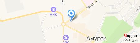 Кудесница на карте Амурска