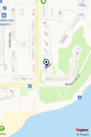 Отдел государственного контроля на карте Амурска