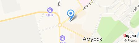 Апрель на карте Амурска