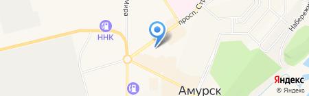 Мианта на карте Амурска