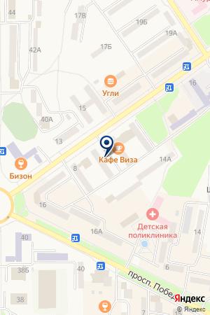Гранд-Авто на карте Амурска