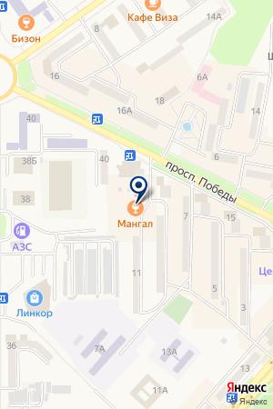 МУРАВЕЙ+ на карте Амурска