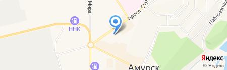 Агат на карте Амурска