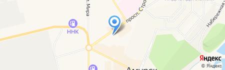 Amba на карте Амурска