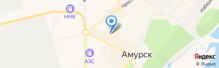 Банкомат Сбербанк России на карте Амурска