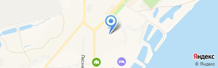 Водоканал на карте Амурска