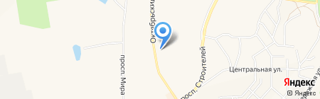 Квазар на карте Амурска