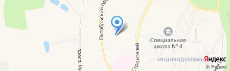 Магазин женской одежды на Октябрьском проспекте на карте Амурска
