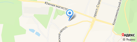 Продуктовый магазин на Октябрьском проспекте на карте Амурска