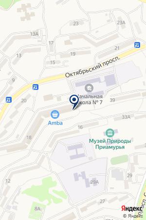 Центр занятости населения г. Амурска на карте Амурска