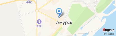 Продуктовый магазин на проспекте Победы на карте Амурска