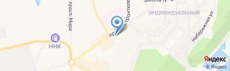 Фортуна на карте Амурска