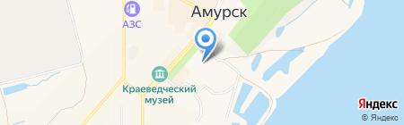 Антошка на карте Амурска