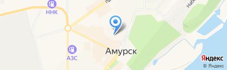 Светлый на карте Амурска