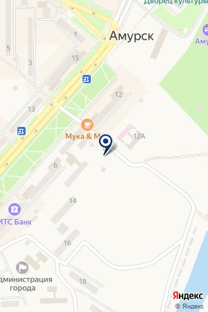 Шиномонтажная мастерская на Комсомольском проспекте на карте Амурска