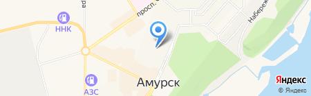 Темп на карте Амурска