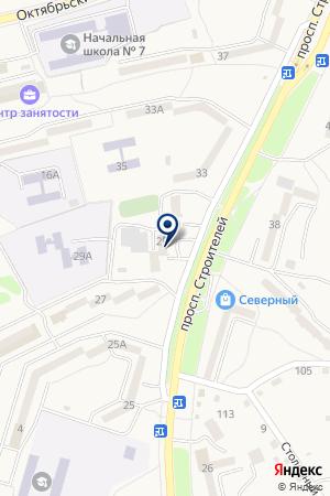 МИКРОРАЙОН-1 на карте Амурска