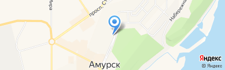 Амуртехснаб на карте Амурска