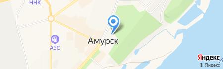 Дворец культуры на карте Амурска