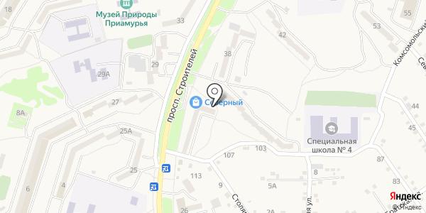 Кенгуру.ru. Схема проезда в Амурске