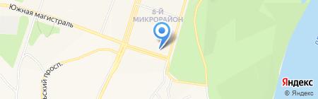 Машенька на карте Амурска