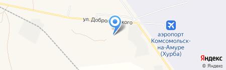 Банкомат АКБ РОСБАНК на карте Хурбы