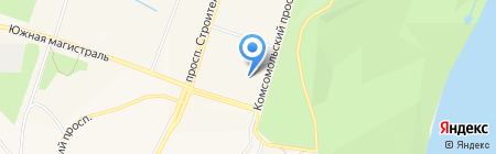 Компьютер на карте Амурска