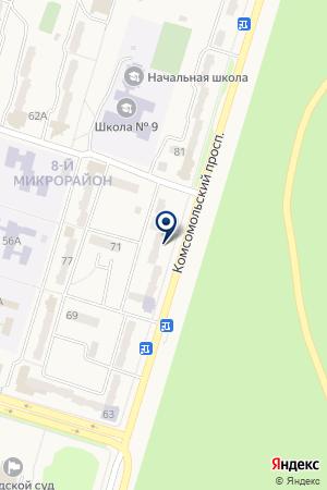 ЭМАН на карте Амурска