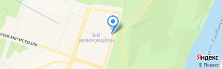 Гранд на карте Амурска