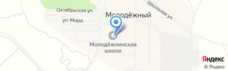 Средняя общеобразовательная школа на карте Хурбы