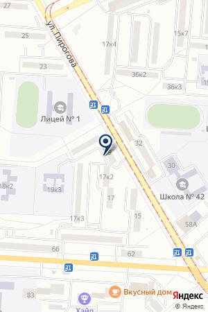 АПТЕКА № 165 ФАРМАЦИЯ на карте Комсомольска-на-Амуре