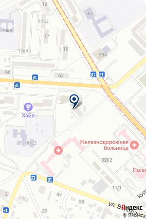 АПТЕКА ФАРМАФОРТ на карте Комсомольска-на-Амуре