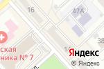 Схема проезда до компании Дачный рай в Комсомольске-на-Амуре