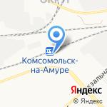 Товары в дорогу на карте Комсомольска-на-Амуре