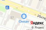 Схема проезда до компании Купи-Читай в Комсомольске-на-Амуре