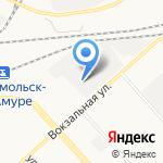 Славянка на карте Комсомольска-на-Амуре