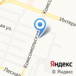 Унимарт на карте Комсомольска-на-Амуре
