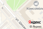 Схема проезда до компании Фиалка в Комсомольске-на-Амуре