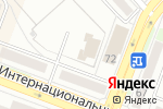 Схема проезда до компании Фантик в Комсомольске-на-Амуре