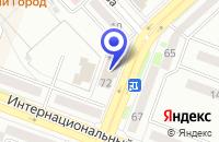 Схема проезда до компании Прана в Комсомольске-на-Амуре