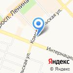 С иголочки на карте Комсомольска-на-Амуре