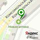 Местоположение компании ПРОФессиональная КОСМЕТИКа