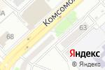 Схема проезда до компании Новая Аптека в Комсомольске-на-Амуре