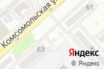 Схема проезда до компании CoffeeCenter в Комсомольске-на-Амуре