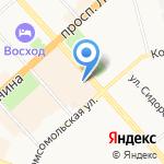 Общественный штаб депутатов городской Думы на карте Комсомольска-на-Амуре
