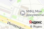 Схема проезда до компании Управление информатизации в Комсомольске-на-Амуре