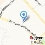 Платежный терминал на карте Комсомольска-на-Амуре