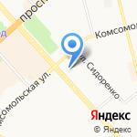 Паспортно-учетная служба на карте Комсомольска-на-Амуре