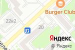 Схема проезда до компании Виктория в Комсомольске-на-Амуре